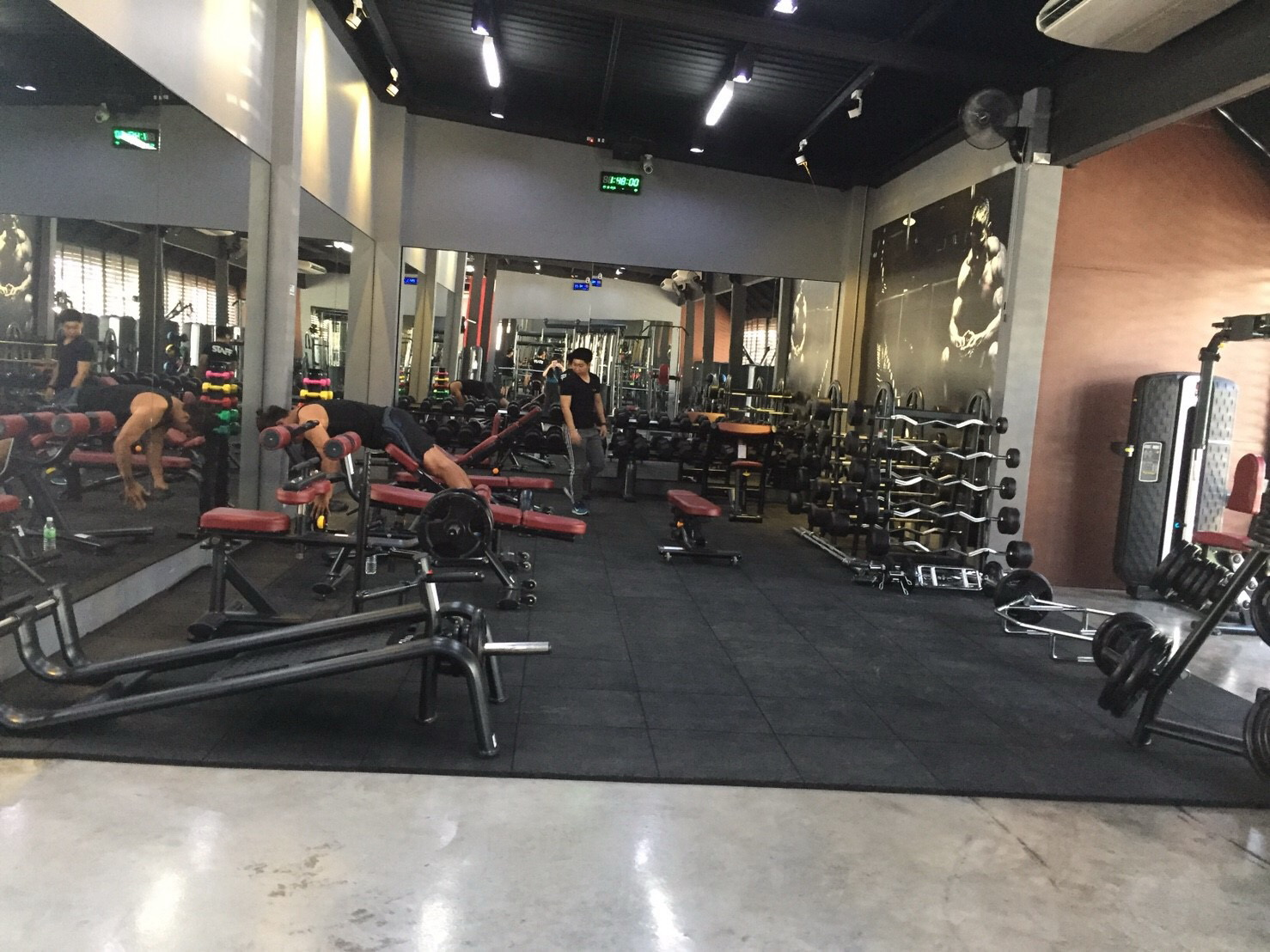 Gym Tiles Fitness Flooring